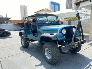 Willys Overland Jeep 2.6 6 Cilindros Verde 1967