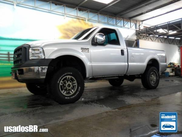 FORD F-250 3.9 XLT 4X2 CS DIESEL 2P MANUAL Prata 2007