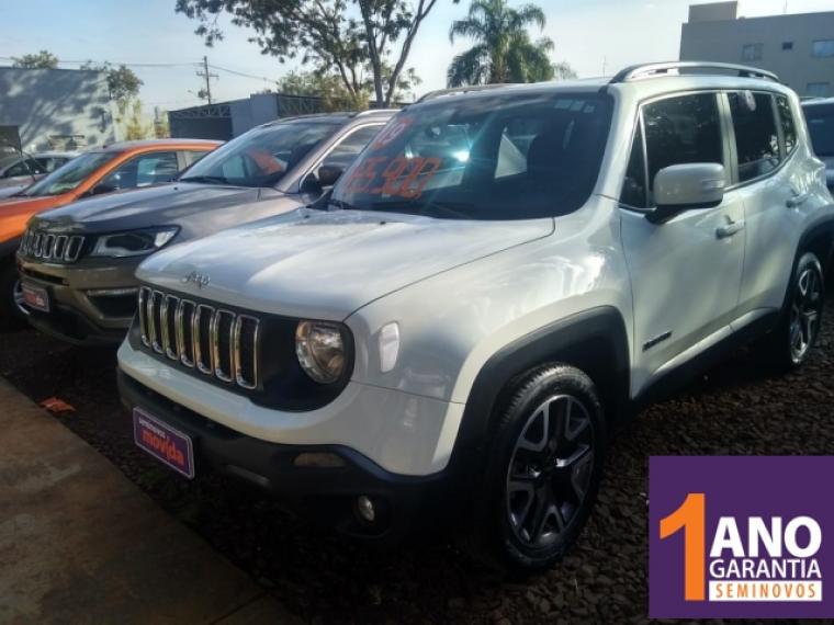Jeep Renegade 1 8 Longitude Prata 2019 2019 Ribeirao Preto 1017756 Usadosbr Com