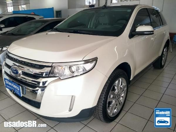 FORD EDGE 3.5 LIMITED AWD V6 Branco 2014