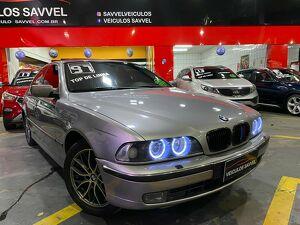 BMW 540i 4.4 V8 Prata 1997