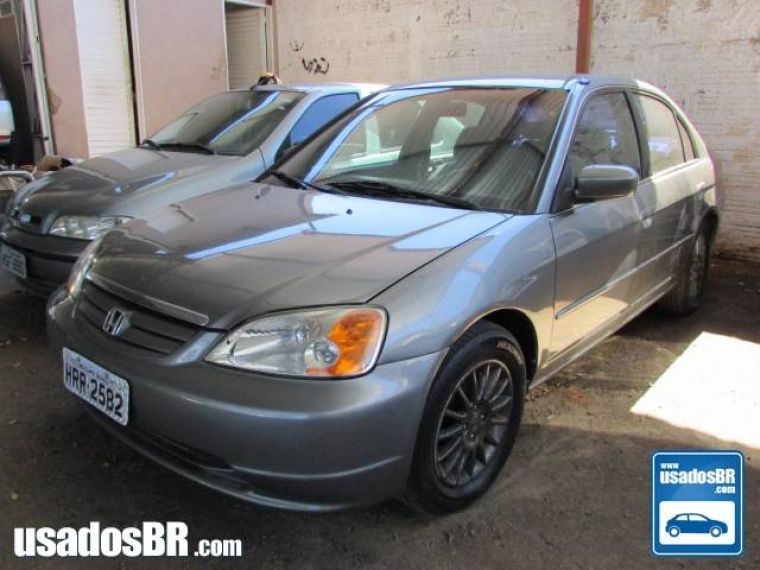534791 20160823 Honda Civic Cinza 20013560 ...