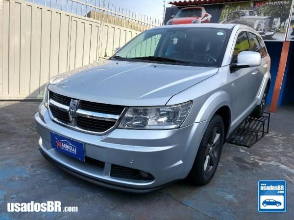 DODGE JOURNEY 2.7 SXT V6 Prata 2009