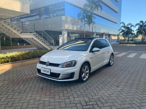 Volkswagen Golf 2.0 TSI GTI Turbo Branco 2014