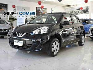 Nissan March 1.0 S Preto 2018