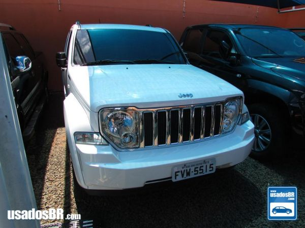 JEEP CHEROKEE 3.7 LIMITED V6 Branco 2012