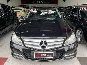 Mercedes-benz C 180 1.8 CGI Turbo Preto 2012