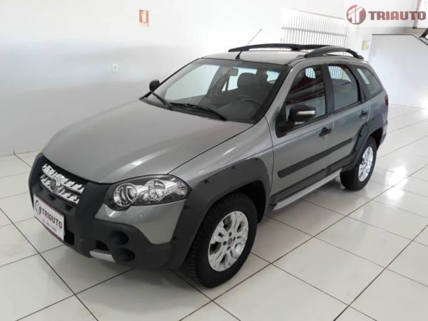 FIAT PALIO WEEKEND 1.8 ADVENTURE 8V Cinza 2012