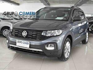 Volkswagen T-cross 1.0 200 TSI Cinza 2020