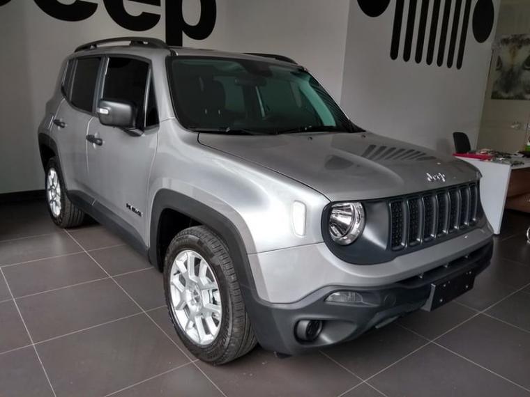 Jeep Renegade 1 8 Sport Prata 2020 2020 Goiania 1025643