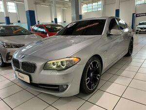 BMW 528i 2.0 16V Prata 2013