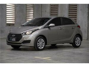 Hyundai HB20 1.0 Comfort Plus Prata 2019