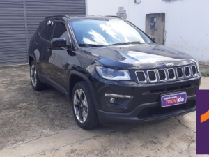 JEEP COMPASS 2.0 LONGITUDE Prata 2019
