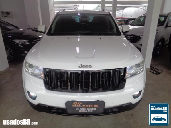 JEEP GRAND CHEROKEE 3.0 LIMITED V6 Branco 2013