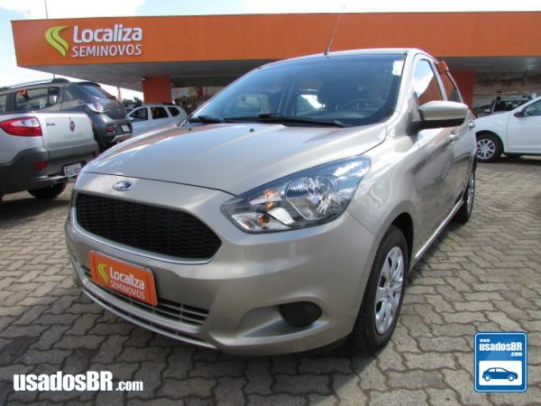 Foto do veiculo FORD KA 1.0 SE 12V Prata 2017