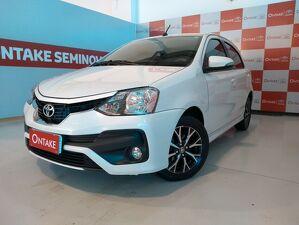 Toyota Etios 1.5 Platinum Branco 2018