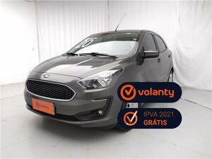 Ford KA 1.5 SE Plus 16V Cinza 2020