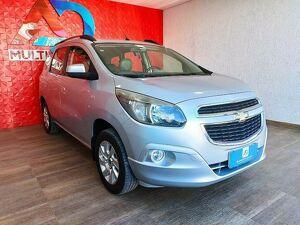Chevrolet Spin 1.8 LTZ 8V Prata 2013