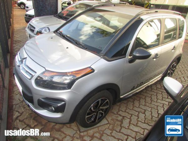 Foto do veiculo CITROËN AIRCROSS 1.6 EXCLUSIVE Prata 2015