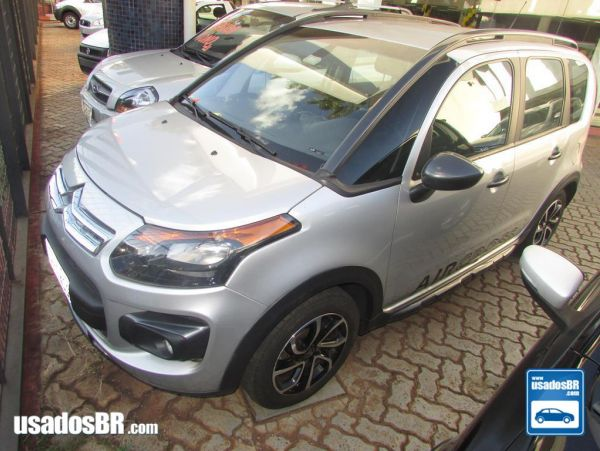 CITROËN AIRCROSS 1.6 EXCLUSIVE Prata 2015