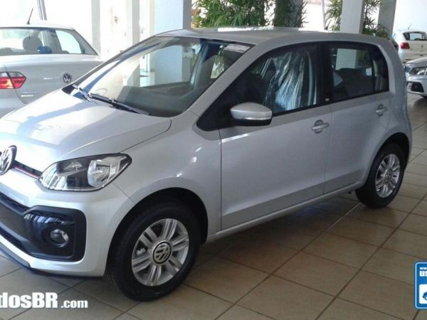 VOLKSWAGEN UP 1.0 TSI MOVE Prata 2018