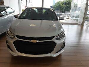 Chevrolet Onix 1.0 LTZ Turbo Prata 2021