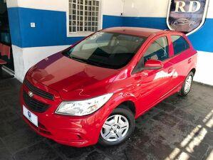 Chevrolet Onix 1.0 LS 8V Vermelho 2016