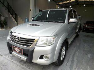Toyota Hilux 2.7 SRV Prata 2013