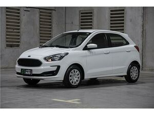 Ford KA 1.0 Tivct SE 12V Branco 2020