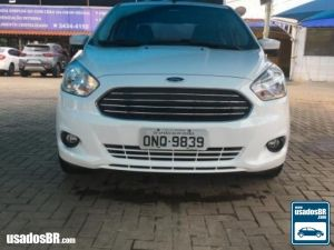 FORD KA + 1.5 SEL PLUS 16V Branco 2015