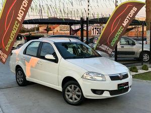 Fiat Siena 1.4 EL 8V Branco 2014