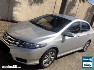 HONDA CITY 1.5 EX Prata 2013