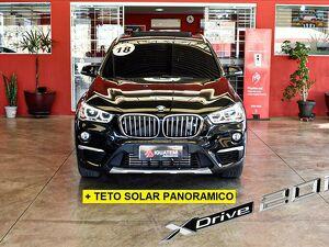 BMW X1 2.0 20I X-line Sdrive Turbo Preto 2018