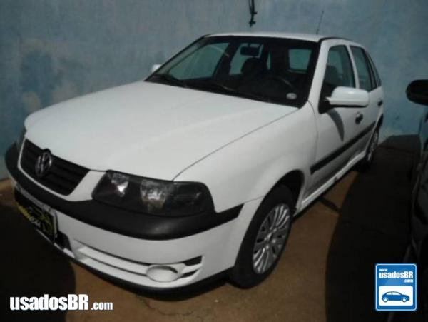 VOLKSWAGEN GOL 1.6 MI POWER 8V FLEX 4P MANUAL G.III Branco 2005