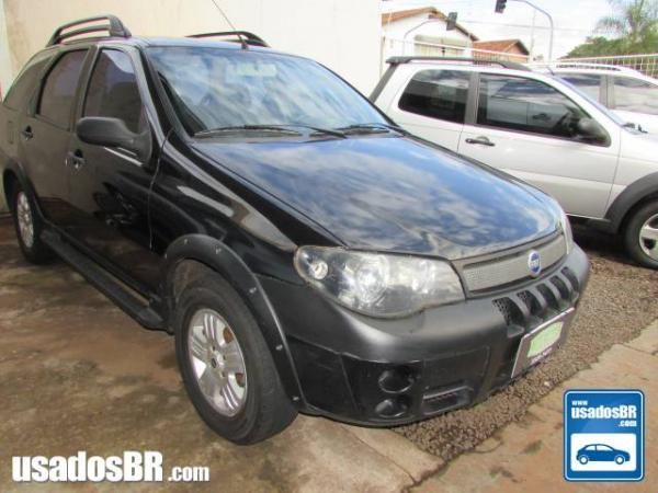 FIAT PALIO WEEKEND 1.8 ADVENTURE 16V Preto 2006