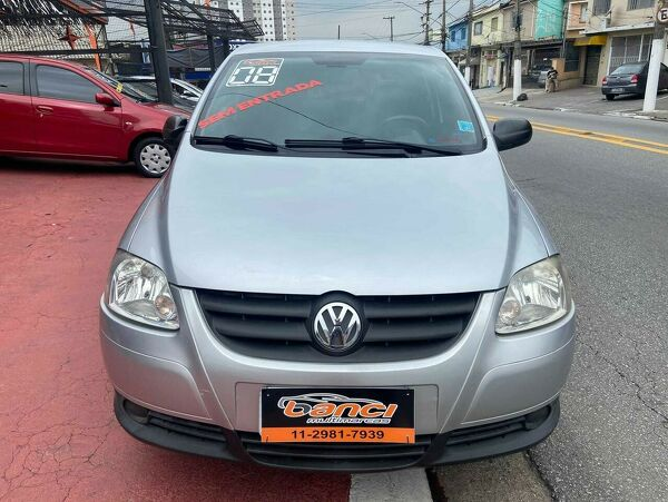 VOLKSWAGEN FOX 1.0 PLUS Prata 2008