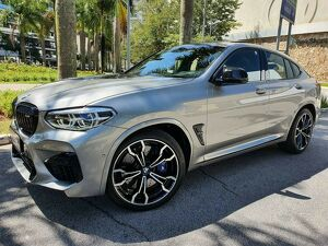 BMW X4 3.0 Twinpower M Competition Cinza 2020
