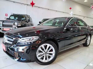 Mercedes-benz C 180 1.6 CGI Avantgarde Preto 2019