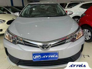 Toyota Corolla 1.8 GLI Upper Prata 2018