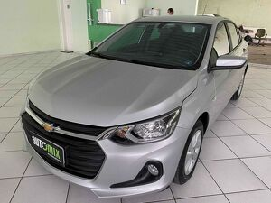CHEVROLET ONIX 1.0 TURBO PLUS LTZ Prata 2020