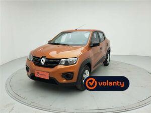 Renault Kwid 1.0 ZEN Laranja 2021