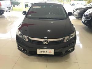 Honda Civic 1.8 EXS Preto 2013