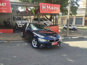 BMW 320i 2.0 Turbo Azul 2014