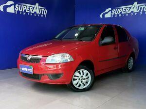 FIAT SIENA 1.0 FIRE 8V Vermelho 2012