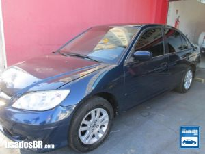 HONDA CIVIC 1.7 LX Azul 2006