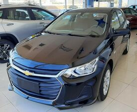 Chevrolet Onix 1.0 Turbo Plus LT Preto 2022