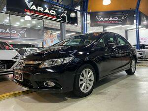 Honda Civic 2.0 LXR Preto 2014