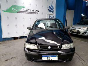FIAT PALIO 1.0 EX Preto 2001