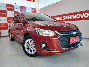 Chevrolet Onix 1.0 Turbo Plus LT Vermelho 2020