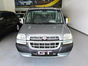 Fiat Doblò 1.8 ELX 8V Cinza 2009